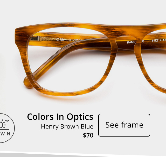 Colors in Optics Henry - See frame